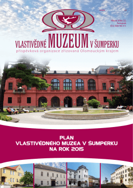 Plán činnosti 2015 - Vlastivědné muzeum v Šumperku