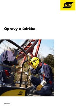 Opravy a údržba