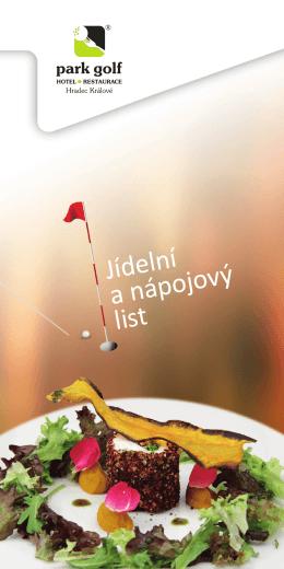 Sezónní nabídka - Park Golf Club Hradec Králové
