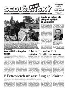 Sedlčanský kraj 23/2015