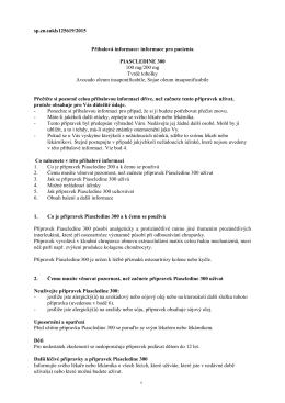 sp.zn.sukls125619/2015 Příbalová informace: informace pro