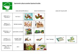 Oprávnění užívat označení Správná hračka 2015
