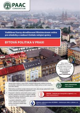 PAAC PAAC - PROCES – Centrum pro rozvoj obcí a regionů, sro