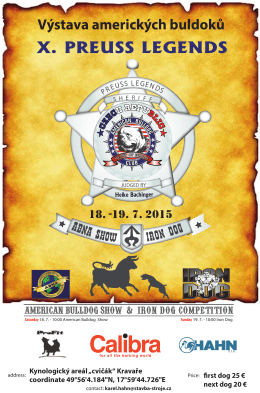 X. PREUSS LEGENDS - American Bulldog Club