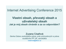 Internet Advertising Conference 2015