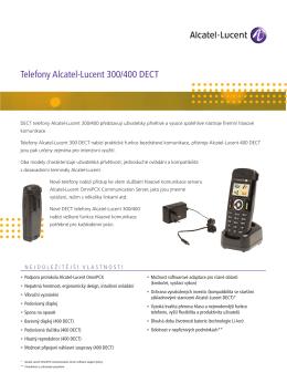 Telefony Alcatel-Lucent 300/400 DECT - ATS