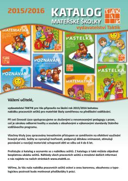 Katalog - MŠ