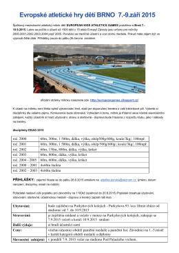 Evropské atletické hry dětí BRNO 7.-9.září 2015015