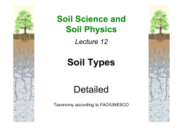 12. Soils of the World