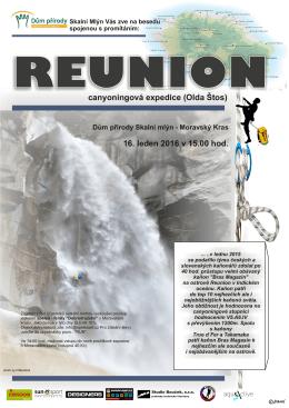 canyoningová expedice (Olda Štos) 16. leden 2016 v 15.00 hod.