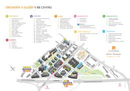 Mapa služeb BB Centra 2014 (verze 09) CZ
