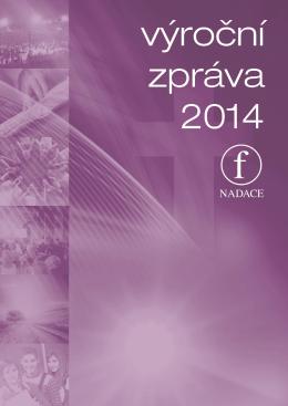 Výroční zpráva 2014 pdf – ke stažení - F