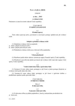 EET zákon verze 4 - Vectron Systems CZ