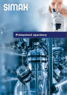 katalog skleněných průmyslových aparatur a potrubí