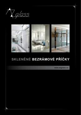 katalog - Sklo interiéry, sklo exteriéry