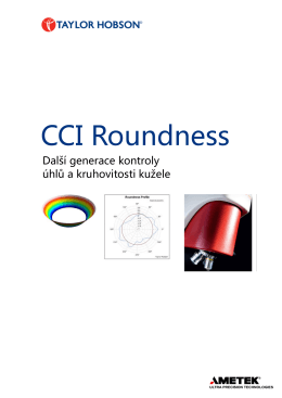 CCI Roundness - IMECO TH sro