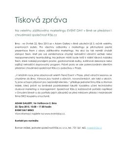 zde - Event Day Brno