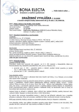 BONA ELECTA - Mangork.cz