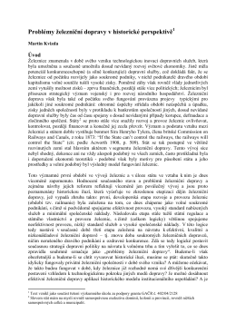 Historická metoda (HM) v ekonomii