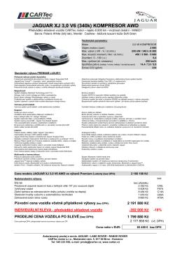 Jaguar XJ 3,0 AWD_PremiumLuxury_PolarisWhite
