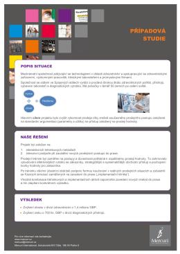 mercuri international pripadova studie zdravotnictvi