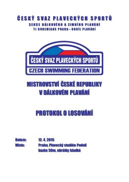 Mistrovství ČR žactva, dorostu a dospělých 2015