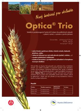 Nový herbicid pro obilnáře