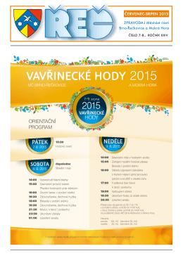 ČERVENEC-SRPEN 2015 - ÚMČ Brno