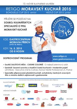 retigo moravský kuchař 2015 - Kuchařské studio Luděk Bil
