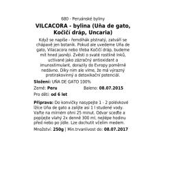 VILCACORA - bylina (Uňa de gato, Kočičí dráp