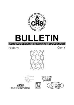 Bulletin - Chemické listy