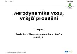 Aerodynamika vozu, vnější proudění