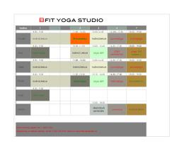 BFIT Yoga Studio Chomutov