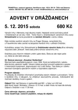 Advent v Drážďanech 2015 - 4x
