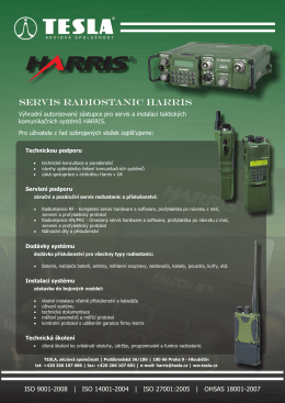 Servis Radiostanic HARRIS