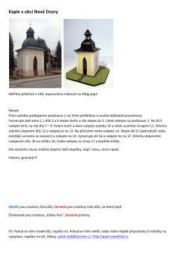 Kaple v obci Nové Dvory