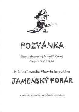 Propozice V. ročník Vltavský pohár