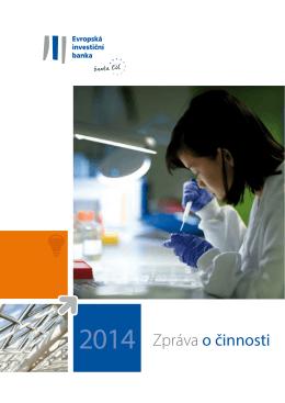 2014 Zpráva o činnosti - European Investment Bank