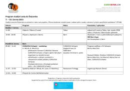 Program studijní cesty - Asociace poskytovatelů sociálních služeb