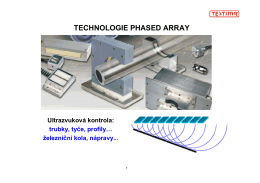 TECHNOLOGIE PHASED ARRAY