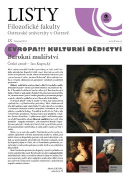 listopad - Filozofická fakulta