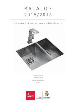 Katalog Dřezy 2015
