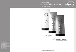 VarioTel_2 CZ 08.09:MonoTel DE/GB/FR