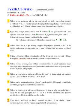Příklady na 1. konzultaci