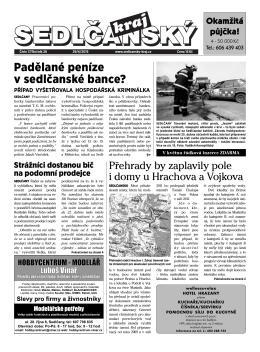 Sedlčanský kraj 17/2015