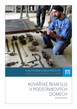 kovarstvi - Obnova podstávkových domů