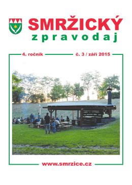 Smržický zpravodaj 2015/3
