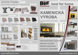 Katalog BeF HOME