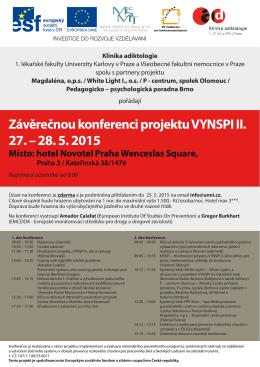Závěrečnou konferenci projektu VYNSPI II.