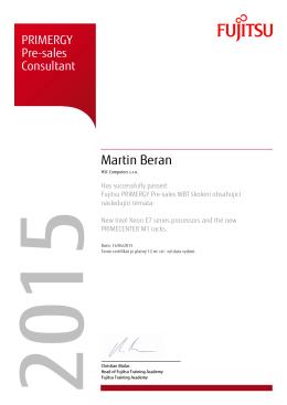 Martin Beran - HSC Computers s.r.o.